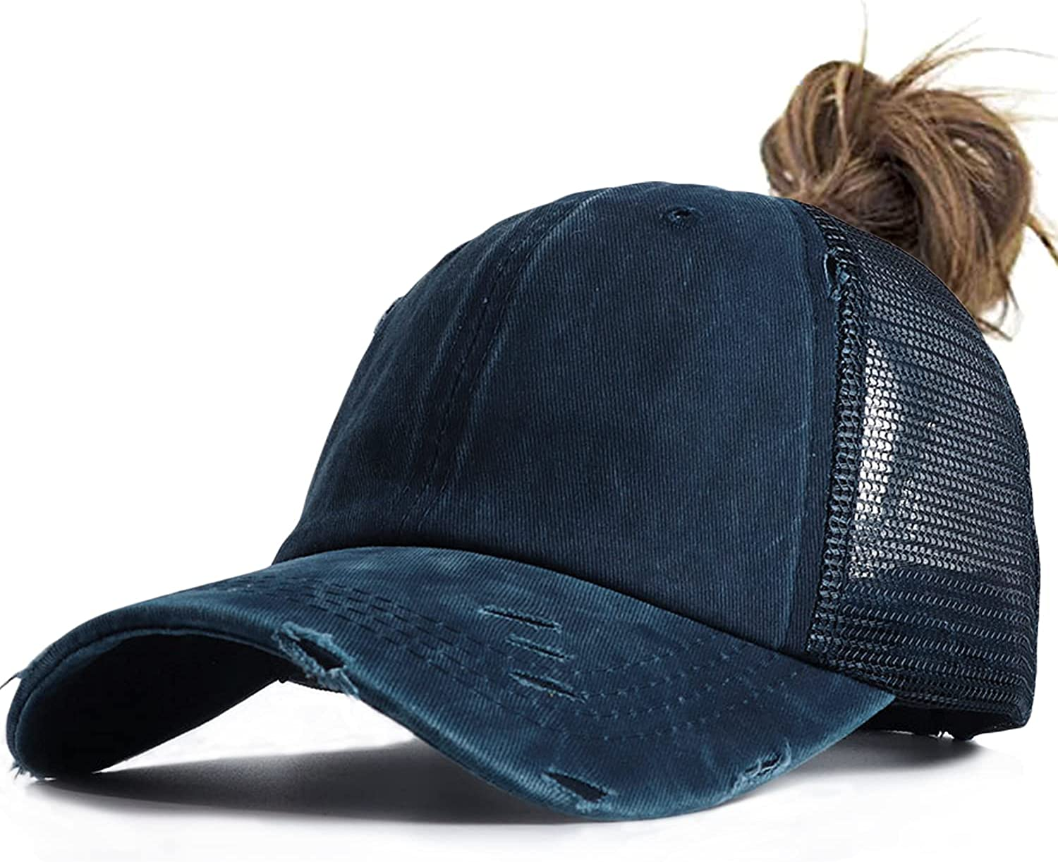 PonytailHat for Women High Ranking TOP8 Ponytail Cap Cross Indianapolis Mall Criss Baseball