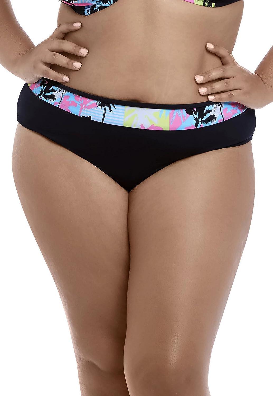 Elomi Women's Malibu Days ES7634 Black Bikini Swim Brief
