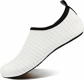 کفش ورزشی آبی VIFUUR جوراب های برهنه سریع خشک Aqua Yogla Slip-on برای آقایان بچه های زن
