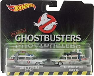 Hot Wheels, Classic Ghostbusters Ecto-1 and Ecto-1A Die-Cast Vehicle 2-Pack