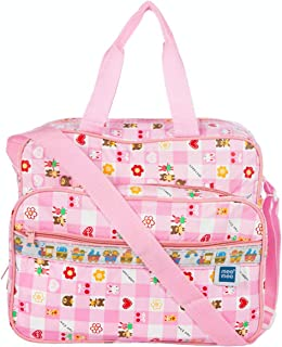 Mee Mee Multifunctional Diaper Bag with Multiple Pockets (Baby Pink)