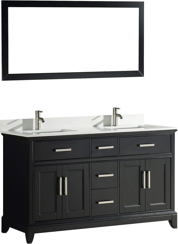 Amazon.com Vanity Art 20 Inches Double Sink Bathroom Vanity Set ...
