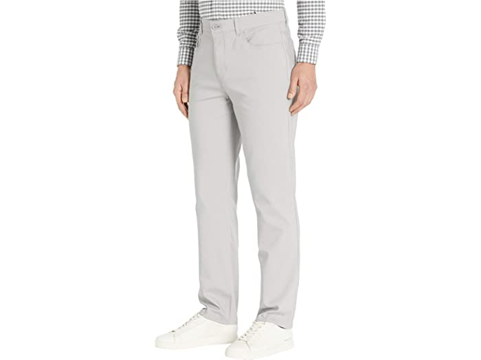 Calvin Klein Tech Woven Five-pocket Casual Pants Alloy