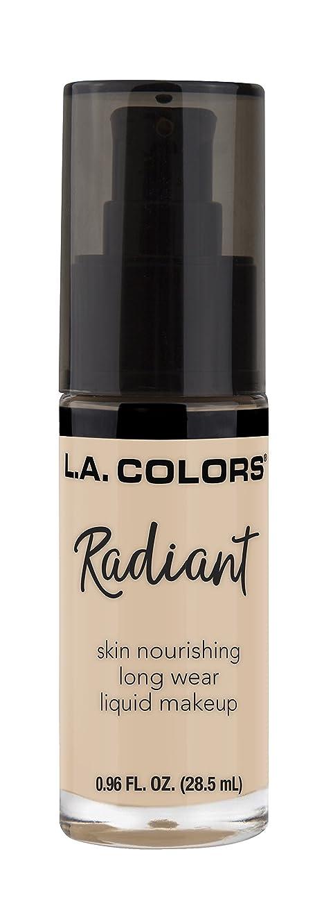 半円ポール留まるL.A. COLORS Radiant Liquid Makeup - Vanilla (並行輸入品)