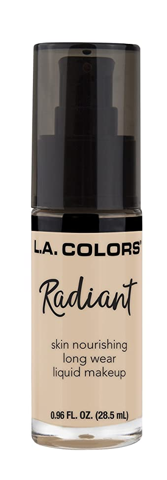 黄ばむインタラクション悪因子L.A. COLORS Radiant Liquid Makeup - Vanilla (並行輸入品)