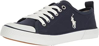 Polo Ralph Lauren Kids Kids' Camden Navy Canvas W/ White PP Sneaker