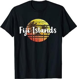 Vintage Fiji Islands Sunset Gift Souvenir T-shirt