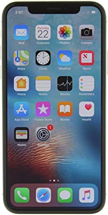 Apple iPhone X Plata 256 GB (Renewed)