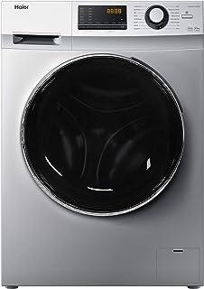 Haier - 8 Kg Washer / 5 Kg Dryer, 1400 RPM, Front Load Washer & Dryer - Silver - HWD80-BP14636S - 1 Year Warranty.