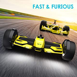 Magic hover Hoverboard Off Road All Terrain G-F1 Racing Self Balancing Hoverboard 8.5 for Kids and Adult with App and LED Lights Two-Wheel Bluetooth UL2272 Certified