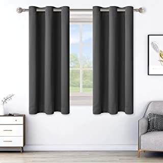 LORDTEX Blackout Curtains for Bedroom -Thermal Insulated Curtains with Grommet Top Room Darkening Noise Reducing Window Dr...