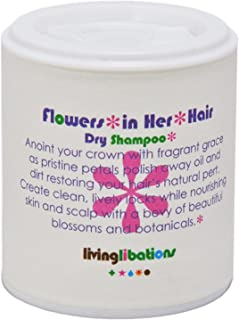 Living Libations - Organic/Wildcrafted Flowers in Her Hair Dry Shampoo (1.69 oz / 50 ml)