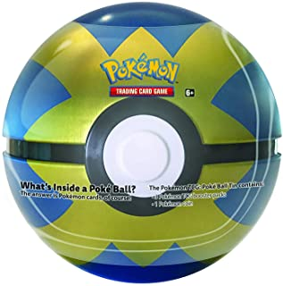 Pokemon TCG Card Game Poke Ball Rare All New 2020 Quick Ball Collector's Tin! 3 boosters!