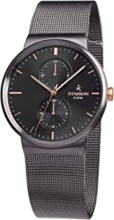 Sponsored Ad - Starion Watches - Slate Watch for Men - Japanese Multifunction Movements - Analog Quartz - Water Resistant ...