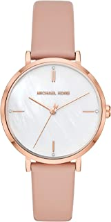 Women's Jayne Three-Hand Rose Gold-Tone Alloy Watch MK7106
