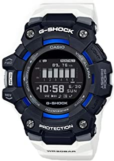 G-Shock GBD100-1A7 G-Squad Power Trainer Series Mens Digital Black/White/Blue Watch