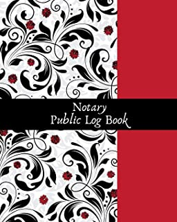 Notary Public Logbook: Official Notary Journal| Public Notary Records Book|Notarial acts records events Log|Notary Template| Notary Receipt Book