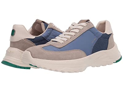 COACH C155 Paneled Runner (Stone Blue) Men