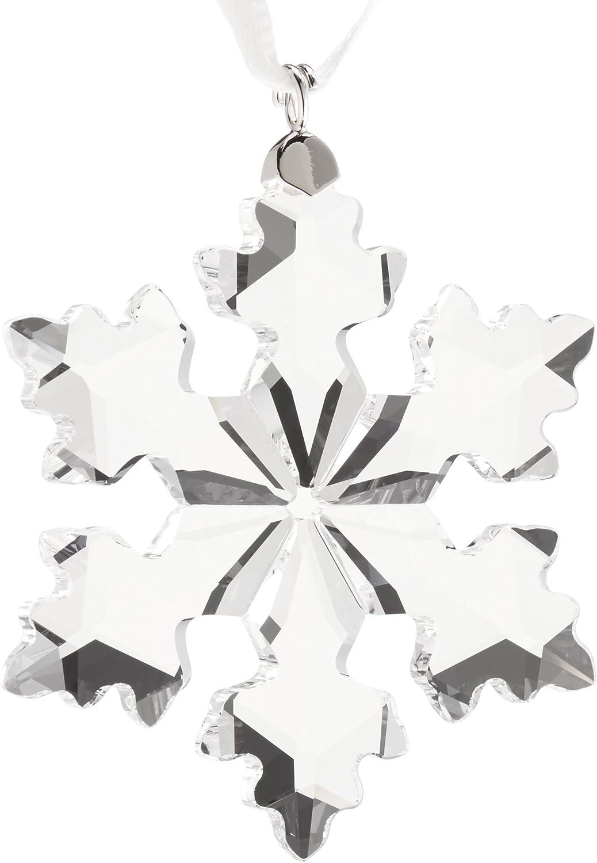 Amazon Com Swarovski Annual Edition 2016 Little Snowflake Ornament Home Kitchen