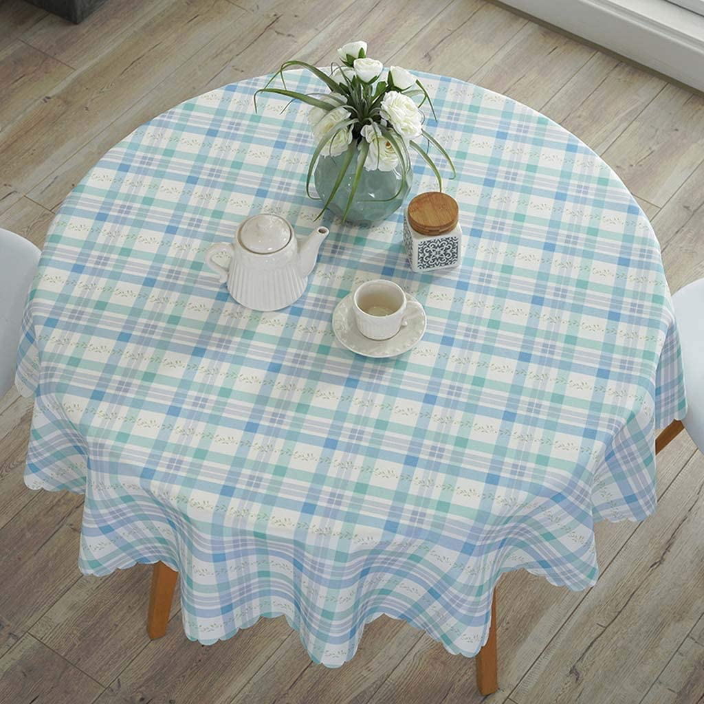 Max 61% OFF Round Super Special SALE held Tablecloth Cotton Linen Table Nordic Style Country T Cover