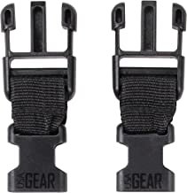 USA Gear Camera Strap Adapter Connectors Camera System, Camera Harness Strap to Neck Strap, Large Male to Small Female, Set of Two