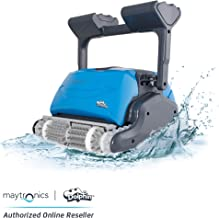 DOLPHIN Oasis Z5i Robotic Pool Cleaner with Bluetooth Control for Stress Free Pool Cleaning, Ideal for In-ground Swimming Pools up to 50 Feet.