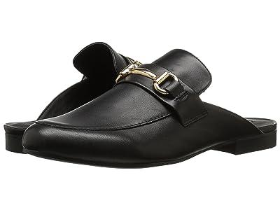 Steve Madden Kandi Slip-On Mule (Black Leather) Women