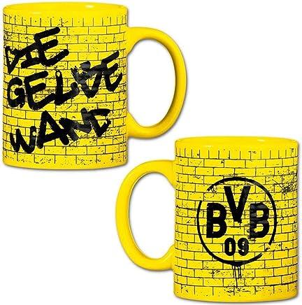 Preisvergleich für Borussia Dortmund Tasse / Kaffeetasse / Kaffeepott / Mug - Gelbe Wand BVB 09