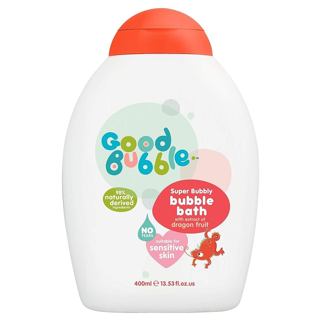 カウンターパート安全性死ぬGood Bubble - Bubble Bath - Super Bubbly with Dragon Fruit Extract - 400ml
