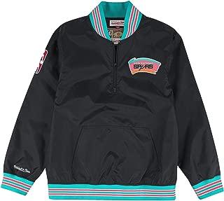 Mitchell & Ness San Antonio Spurs NBA Men's Rebound 1/4 Zip Pullover Jacket