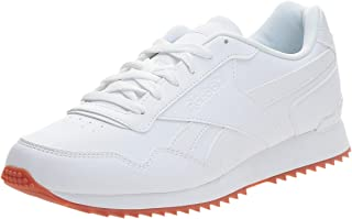 Reebok Royal Glide Ripple Clip Men's Fashion Sneaker, White/Gum