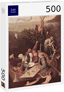 Lais Jigsaw Hieronymus Bosch - The Fool Ship 500 Pieces