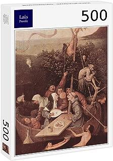Lais Jigsaw Hieronymus Bosch - The Fool Ship 500 Pieces