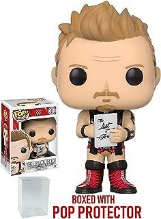 Funko Pop! WWE Chris Jericho Old School Vinyl Figure (Bundled with Pop BOX PROTECTOR CASE)