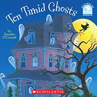 Ten Timid Ghosts (Read with Me Cartwheel Books (Scholastic Paperback))