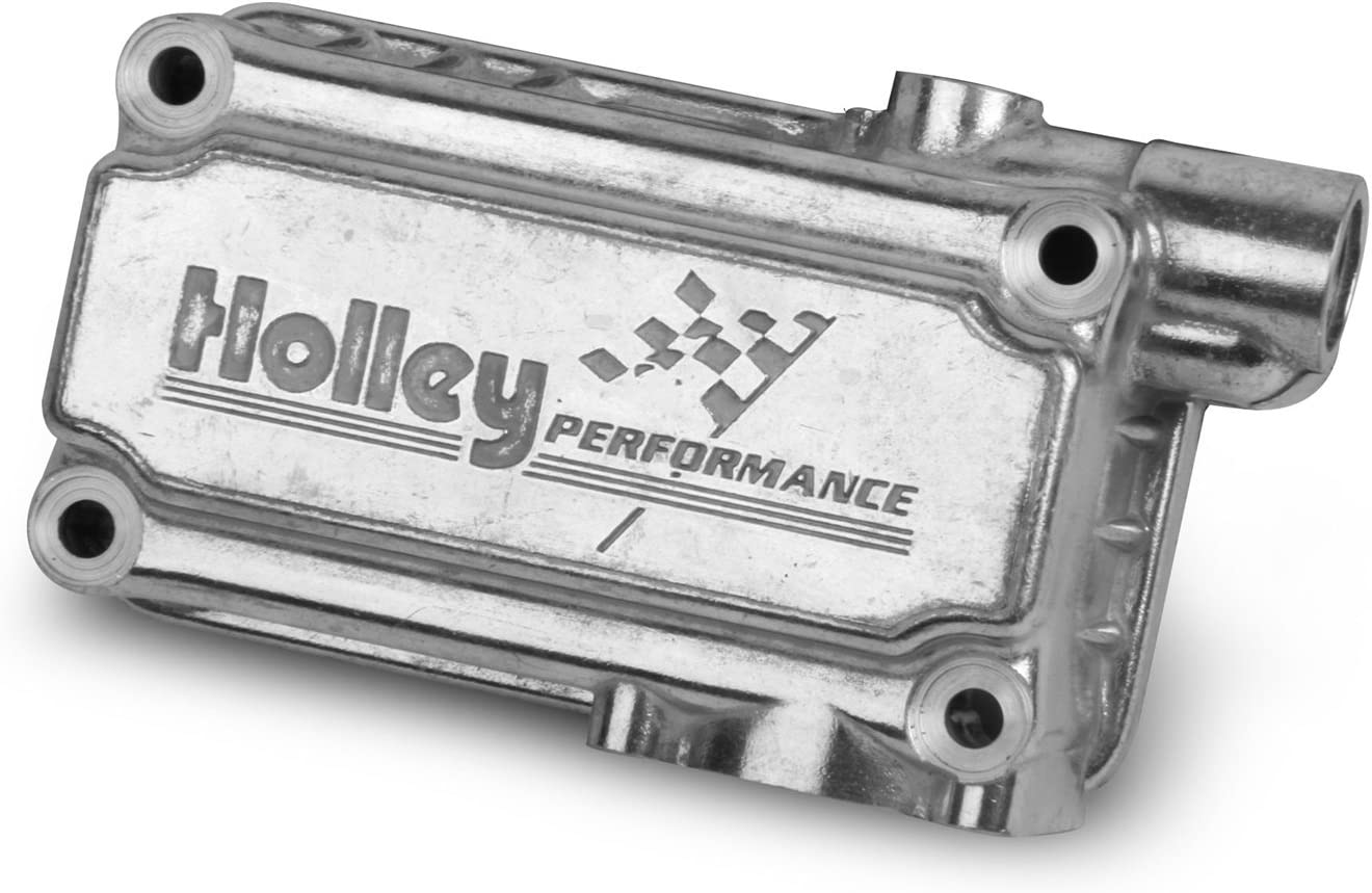 Holley 134-76S Max 85% OFF Aluminum Shiny 2021 spring and summer new Fuel Finish Kit Bowl