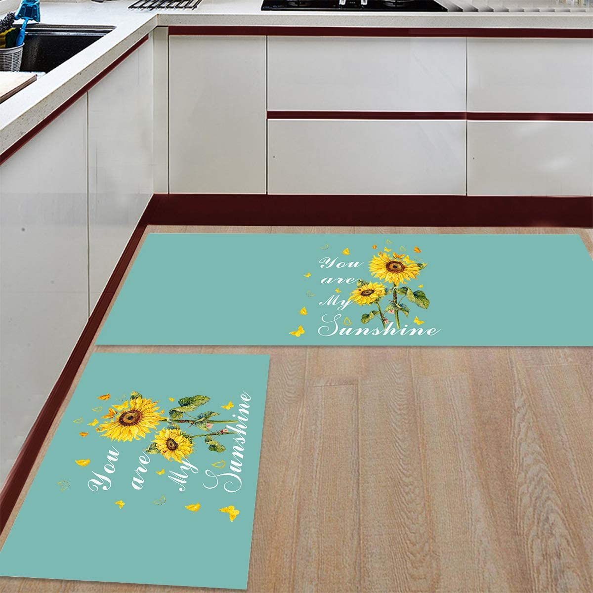 PakiInno 2 PCS Kitchen Rugs and ar Non Mats Rug outlet Max 56% OFF You Slip