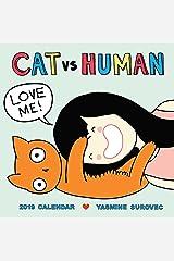 CAT vs. HUMAN 2019 Wall Calendar Calendar
