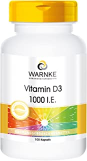 Vitamina D3 1000 U.I. – Colecalciferol – 100 cápsulas