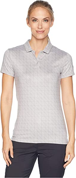 Dry Printed Short Sleeve Polo