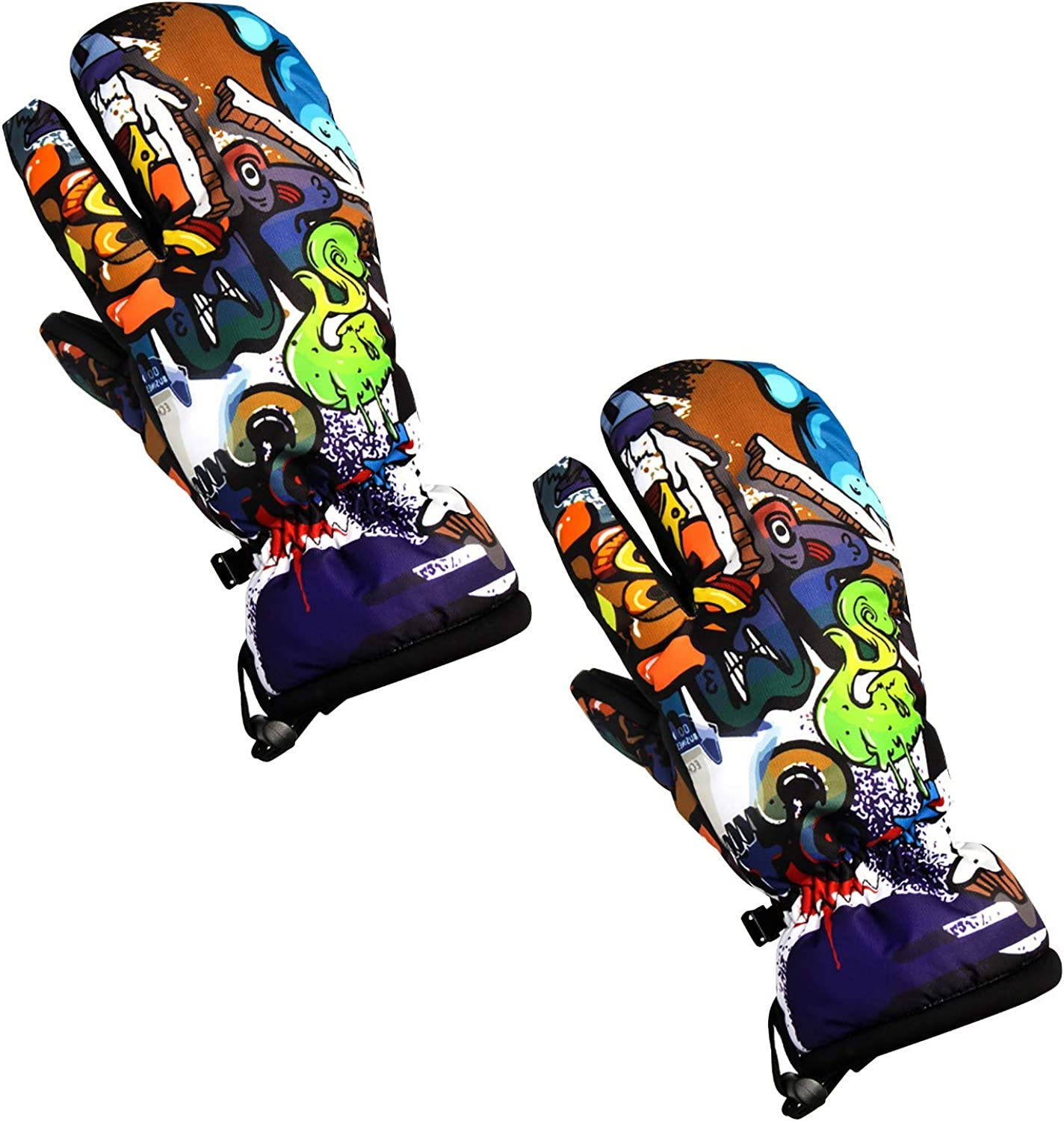 Waterproof Winter Work Gloves Outdoor Sports Ice Snow Cold Multi-Purpose Fashion/Prom/Warm/Bicycle Gloves