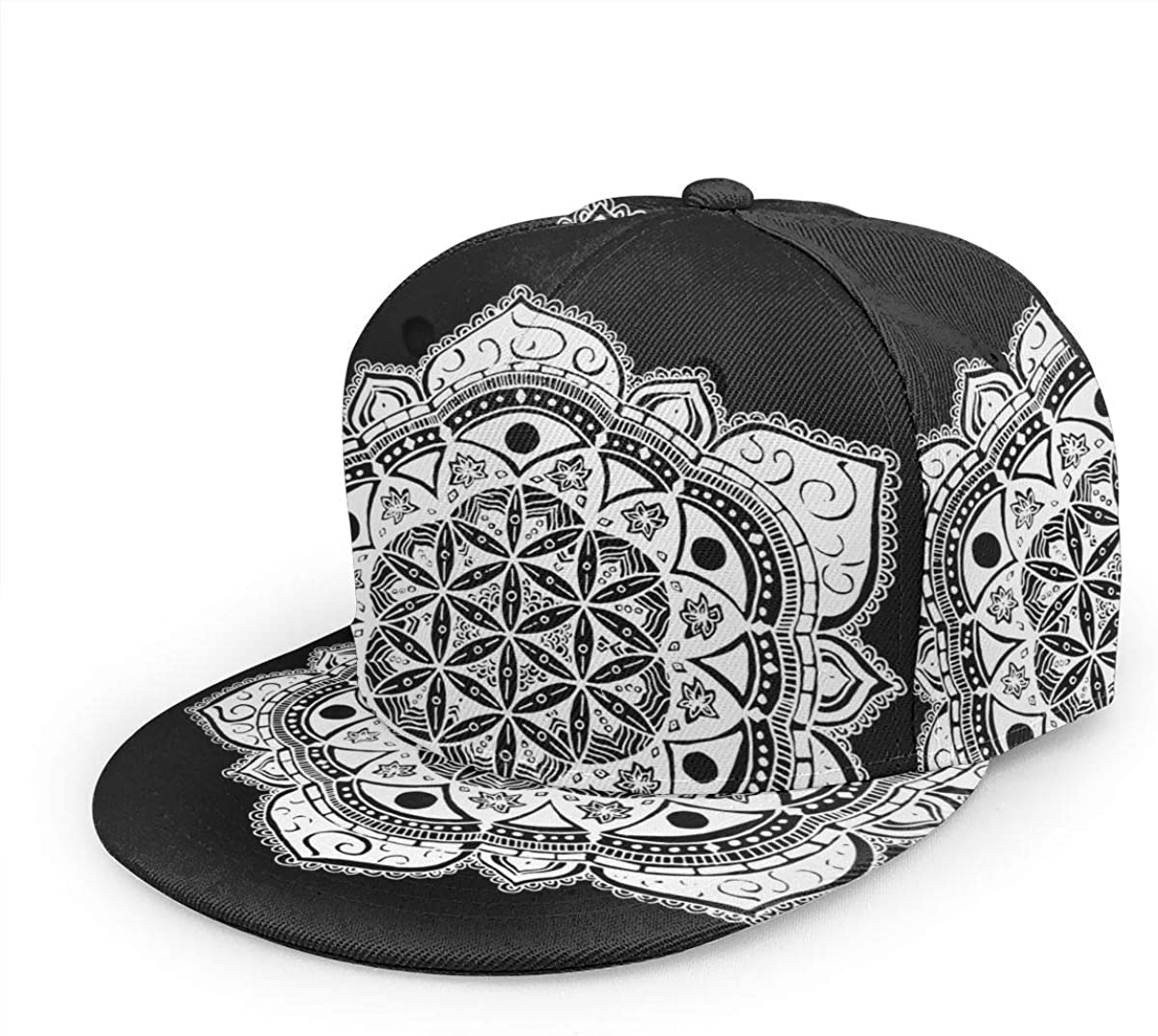 Flower of Life Sacred Geometry Max 46% OFF Printing 3D Unisex Baseba Classic Discount mail order