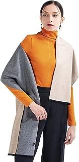 COLD POSH Winter Wrap Silk Scarf Shawl Stole for Women Soft Like Cashmere Wool