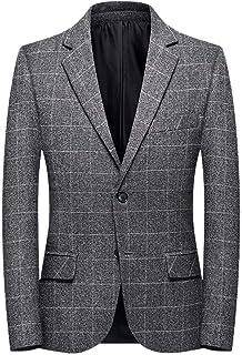 Men's Smart Blazer Premium Casual 2 Buttons Slim Fit Blazer Suit Jacket Wedding Dinner Party Business Tuxedo Chic Coats Go...