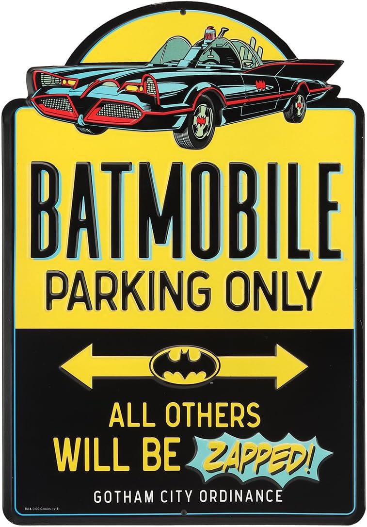 Open Road Brands DC Comics Batmobile Embosse Only Jacksonville Mall Chicago Mall Batman Parking
