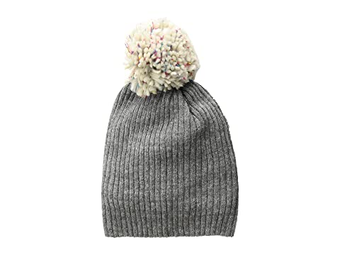 4bfb9219775 Hat Attack Lightweight Rib Watch Cap with Knit Pom at Zappos.com