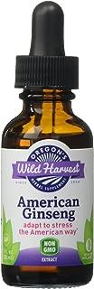 Oregon's Wild Harvest American Ginseng 1:1 Organic Herbal Supplement, 1 Fluid Ounce