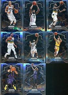 2019-20 Panini Prizm Basketball New Orleans Pelicans Veteran Team Set of 8 Cards: JJ Redick(#36), Derrick Favors(#169), Jrue Holiday(#170), Jahlil Okafor(#171), E'Twaun Moore(#174), Lonzo Ball(#239), Josh Hart(#240), Brandon Ingram(#241)