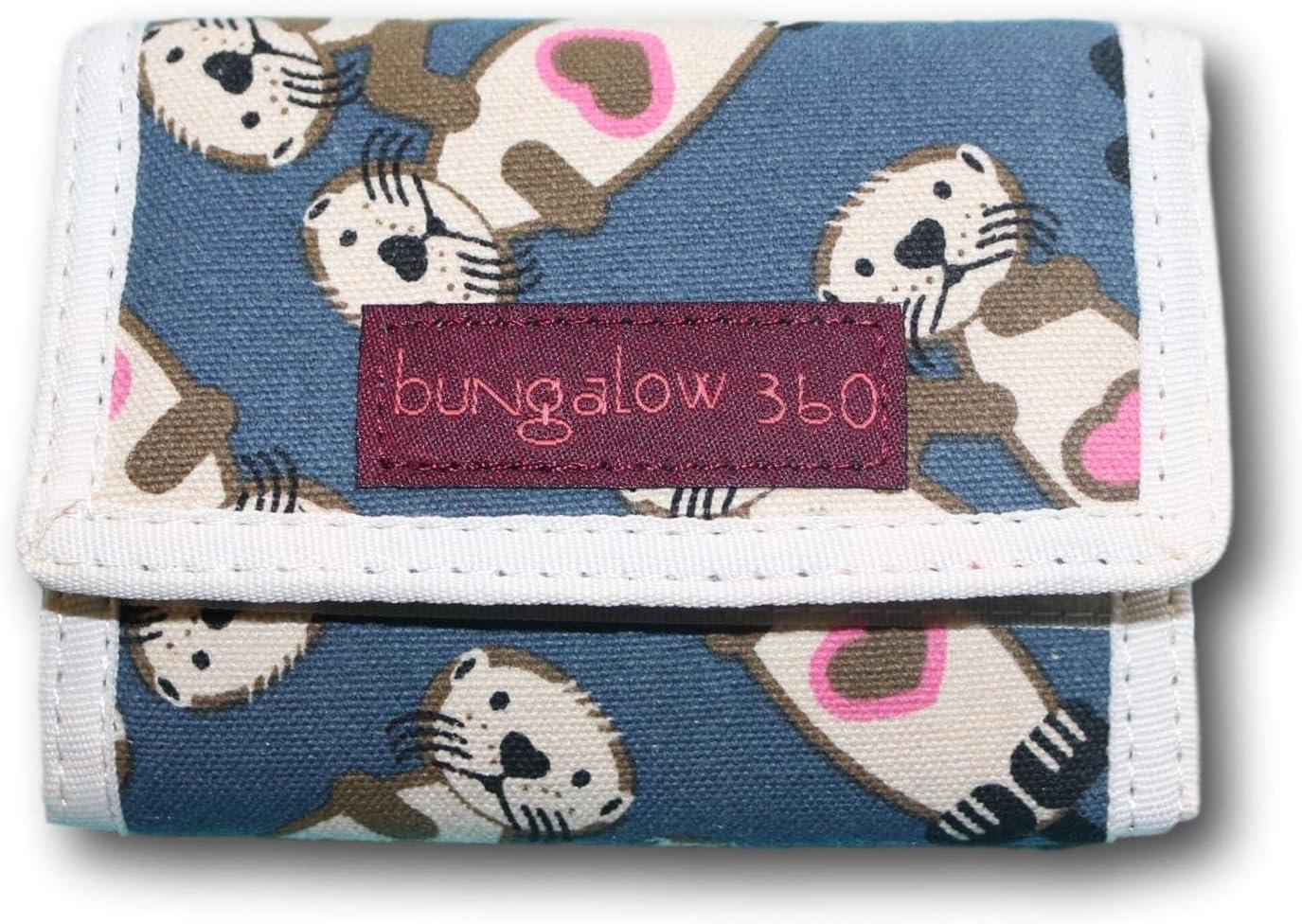 Bungalow 360 Trifold Vegan Wallet (Sea Otter)