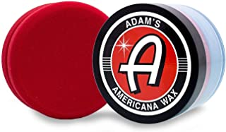 Adam's Americana Premium Carnauba Paste Wax - Adds Unbelievable Depth and Gloss - Super Easy to Use Paste Car Wax - Protect Your Clear Coat from The Elements